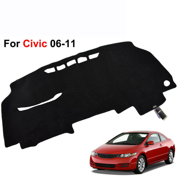 For Honda Civic 2006-2011 Dash Cover Dash Mat Dashmat Dashboard Cover