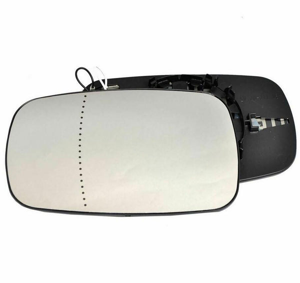 Fits Wing mirror glass for Renault Clio 05-09 Left Passenger side Electric