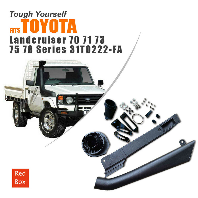 Snorkel Kit SUITS Toyota Landcruiser 70 71 73 75 78 Series 85 - 03