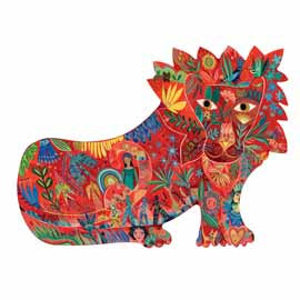 Djeco Lion Puzzle 150 pc puzzle