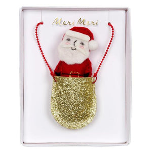 Pocket Santa Necklace