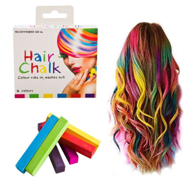 Hair Chalk 6 Colours
