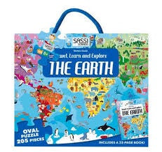 Explore the Earth  - 205pc Puzzle & Book