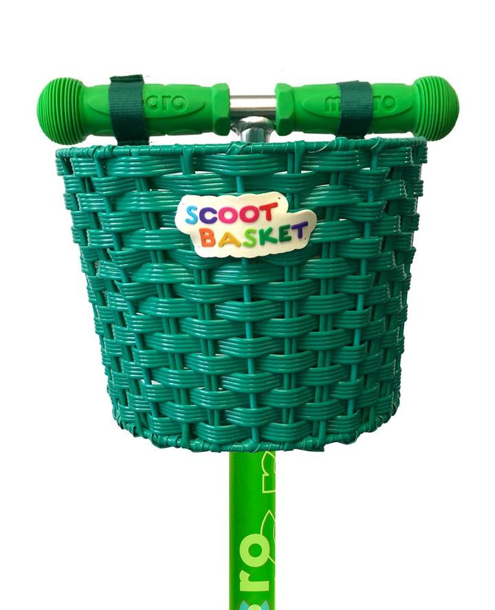 Micro Scooter Basket Green