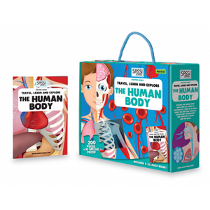 Explore the Human Body - 200pc Puzzle and Book
