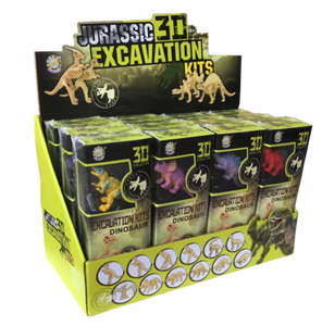 Jurassic 3D Excavation Kits