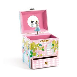 Djeco Little Big Room Delighted Palace Musical Jewellery Box