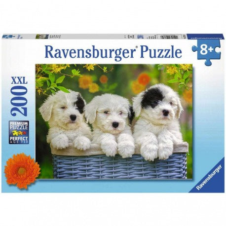Cuddly Puppies - 200pc Puzzle