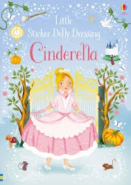 Little Sticker Dolly Dressing Cinderella
