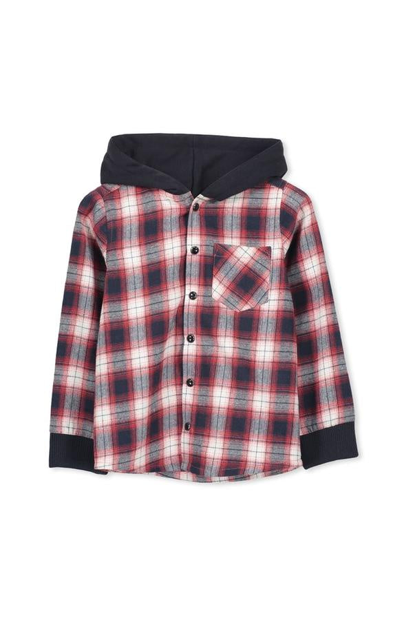 Red Check Shirt - Kid