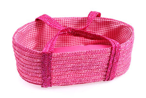 Egmont Pink Straw Bed