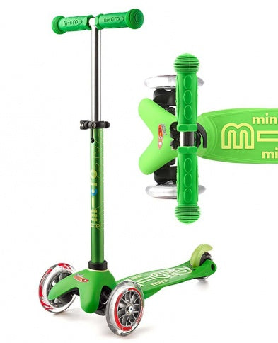 Micro Mini Deluxe Scooter - Green