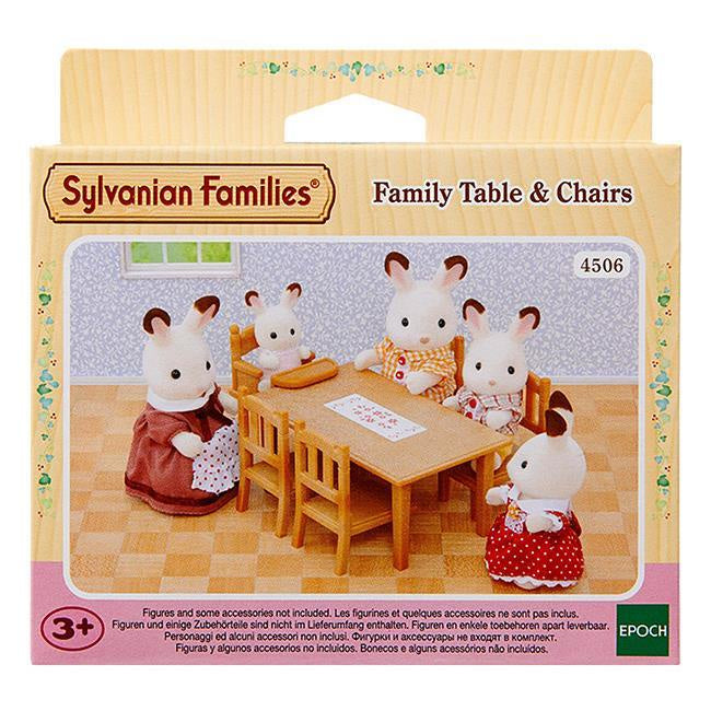 SF Family Table & Chairs