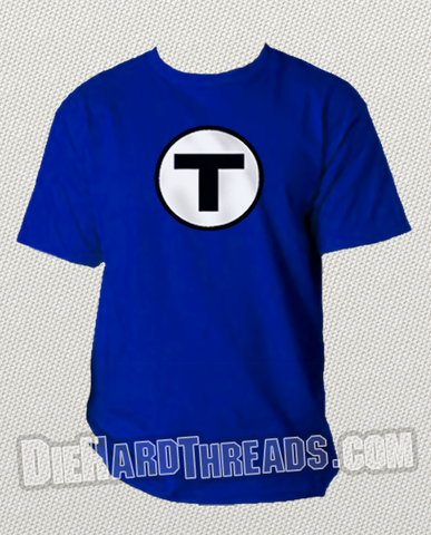 "Boston Blue Line ""T"" Shirt"