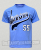 Myrtle Beach Mermen #55 T-shirt