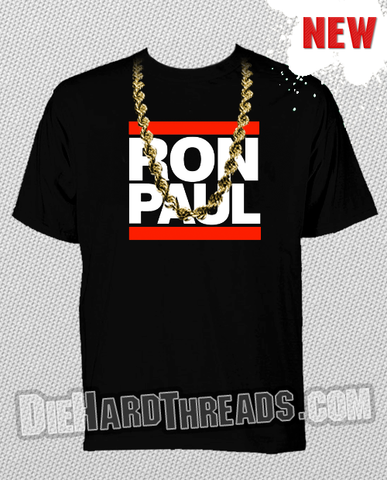 Ron Paul Run DMC T-Shirt