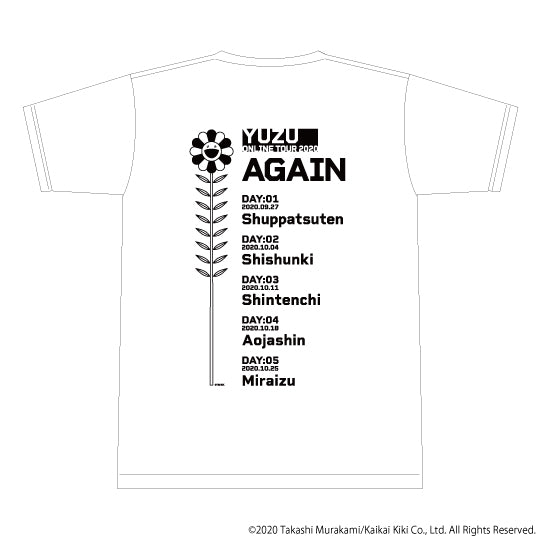 SEE YOU AGAIN Tシャツ(ホワイト)