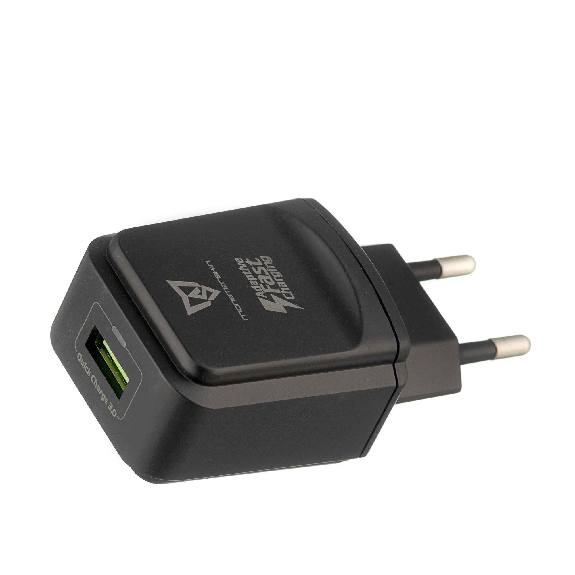 Raptor - single-port USB Travel Adaptor