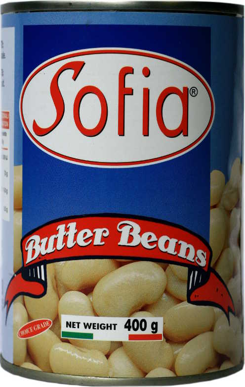 Sofia butter beans 400g (pack of 24)