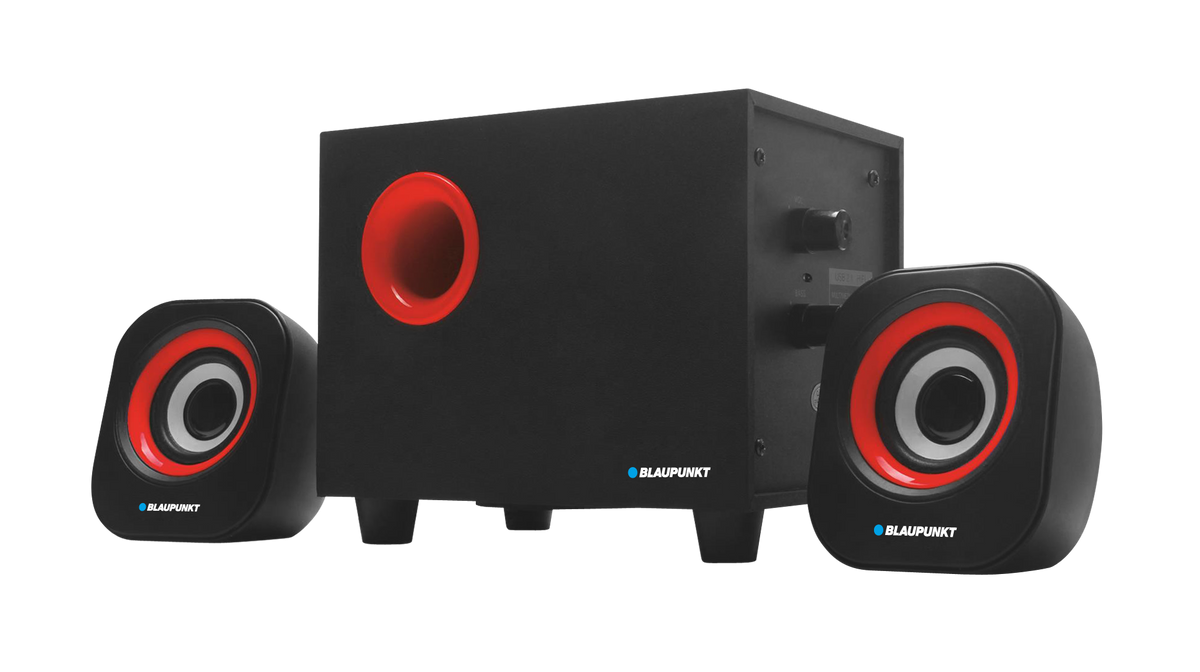 Blaupunkt 2.1 80 W Multi Media Speaker System with Subwoofer - MM452.1 | NextBuy