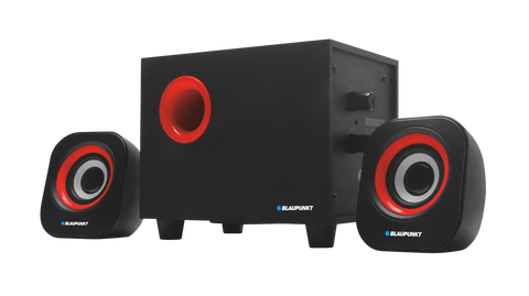 Blaupunkt 2.1 80 W Multi Media Speaker System with Subwoofer - MM452.1