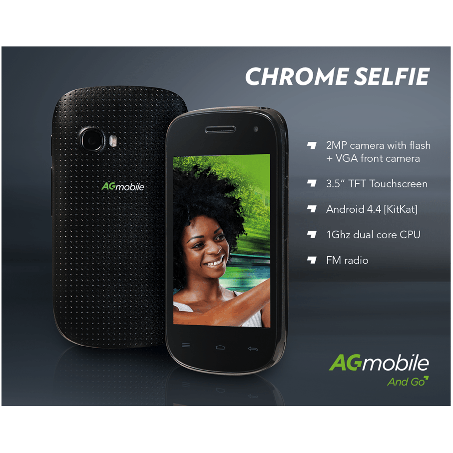 AG Chrome Selfie - Pre-owned (CPO)  Mobile Phones