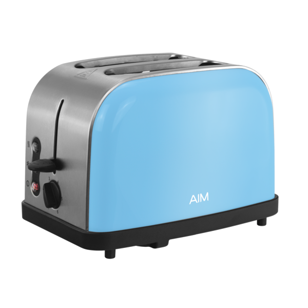 AIM TOASTER END OF RANGE 2 SLICE TOASTER AT2004CBL | NextBuy