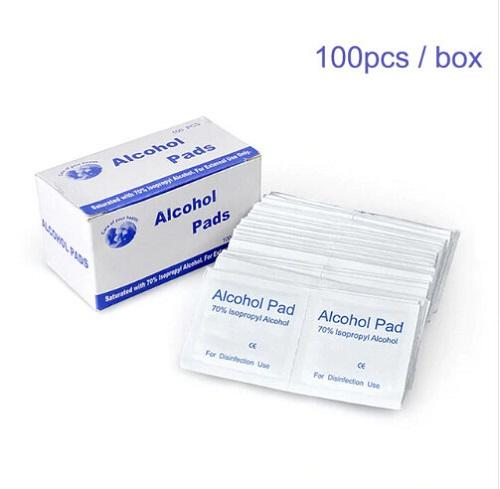 Alphacell Alcohol Wipes - 100pc Box