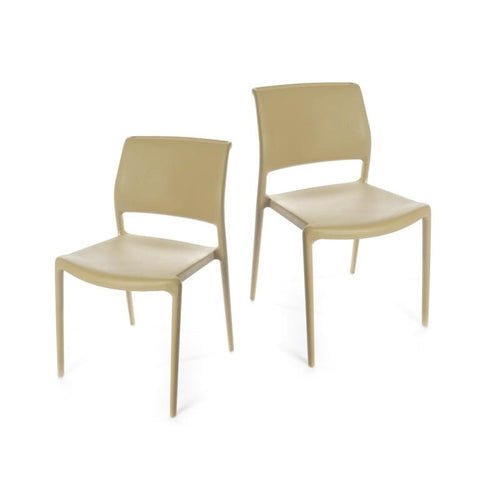 Ara Chair - set of 2 chairs - Sand