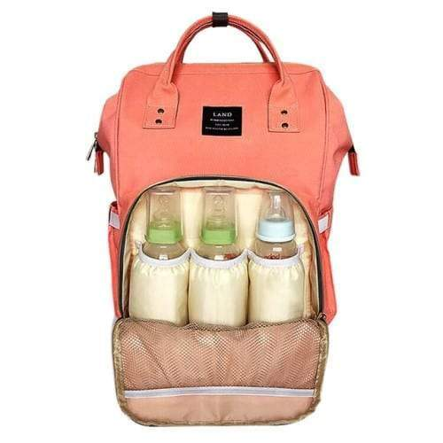 4aKid Backpack Baby Bag - Peach Diaper Bags - 4aKid