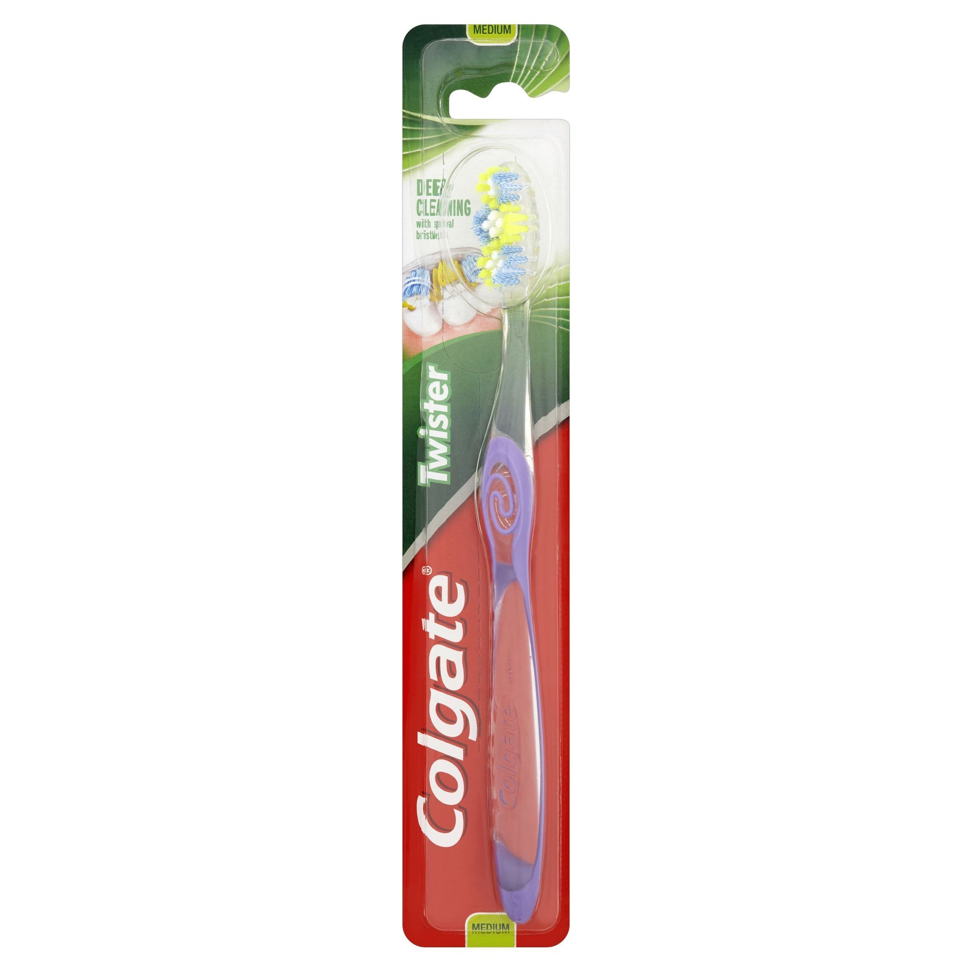 Colgate Twister Fresh Medium Toothbrush - Pack of 12