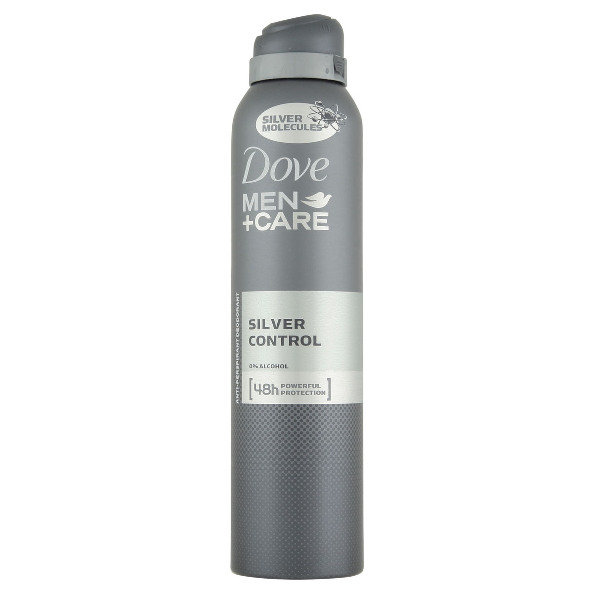 Dove Men+Care Silver Control AP Deodorant 250ml - Pack of 4