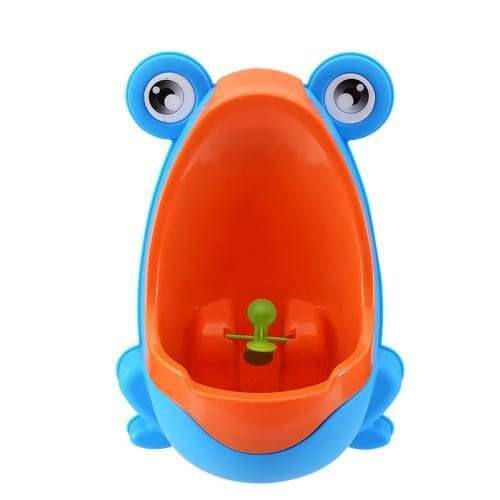Easy-Peesy Froggy Urinal - Blue/Orange