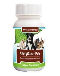 Feelgood - AllergiClear Pets: Naturally prevents allergies in dogs & cats