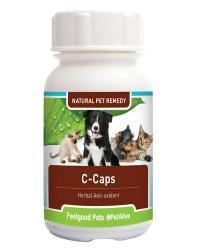 Feelgood - Pets C-Caps: Natural remedy supports dogs & cats with cancer