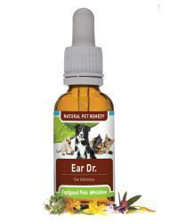 Feelgood Pets Ear Dr: Natural eardrops for ear infection & ear mites in pets