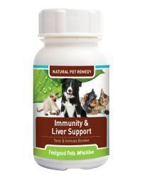 Feelgood Pets Immunity & Liver Support: Natural immunity tonic for pets
