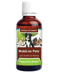 Feelgood - MobiLive Pets- Natural herbal joint pain & stiffness relief for dogs & cats Natural Pet Remedies Feelgood Pets - 4aPet