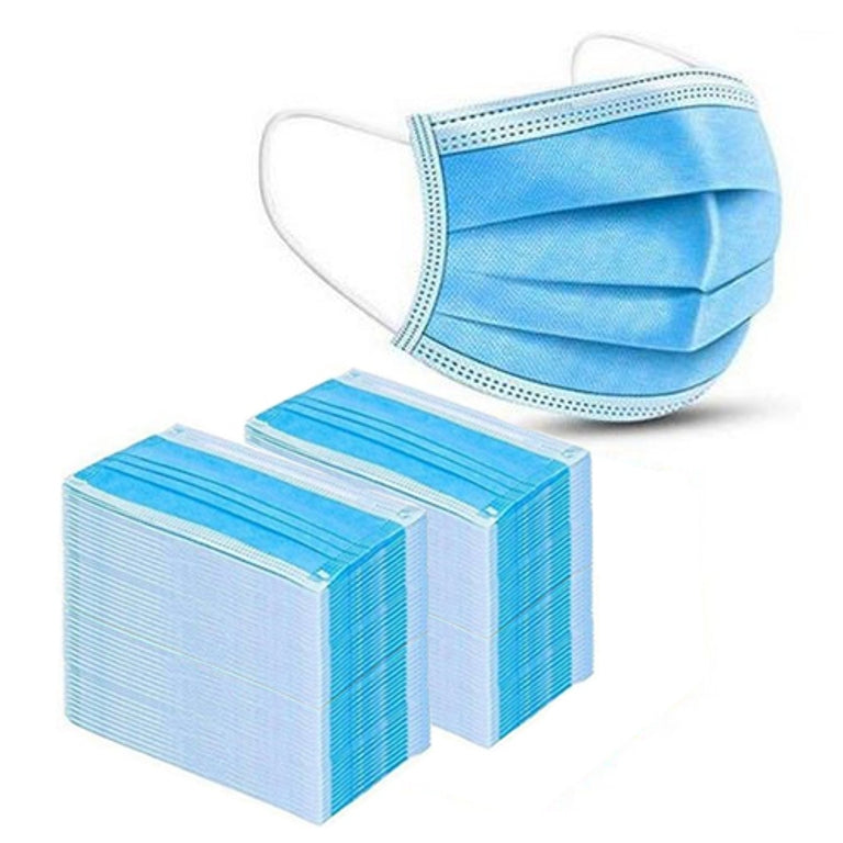 Surgical Face Mask - 3-Ply (Pack of 100)