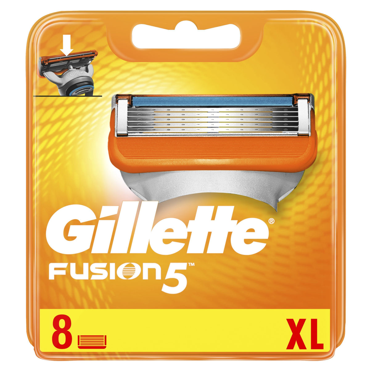 Gillette Fusion 5 - Pack of 8 cartridges