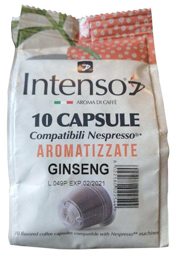 Intenso Coffee Capsules - Ginseng Aroma (60 capsules)