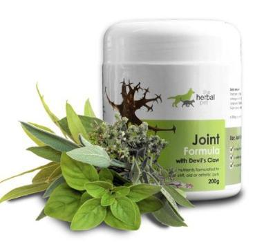 Herbal Pet Joint Formula for Healthy Joints: all-natural herbal pet supplement to support healthy joints Natural Pet Remedies Herbal Pet - 4aPet