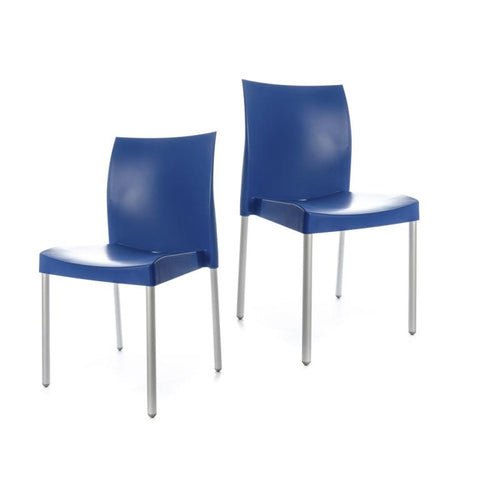 Ice Chair - set of 2 chairs - Blue