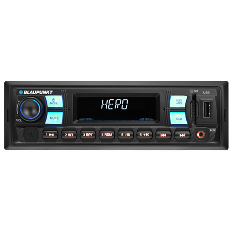 Blaupunkt Deckless Car Radio USB MA030DCK