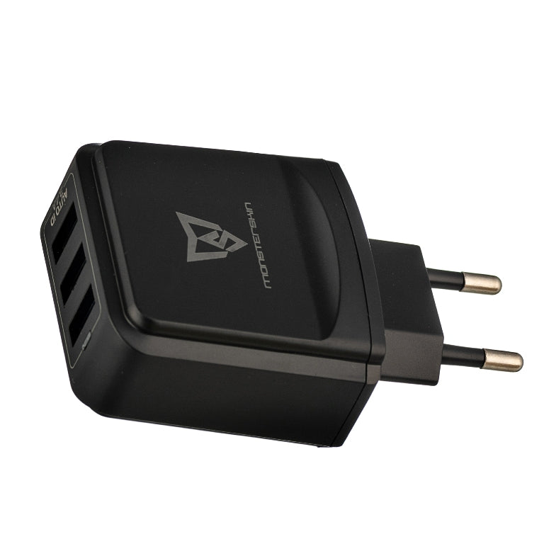 Raptor - 3-port USB Travel Adaptor