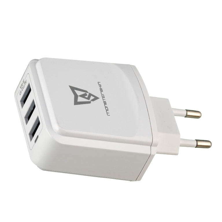 Raptor - 3-port USB Travel Adaptor  USB Charger