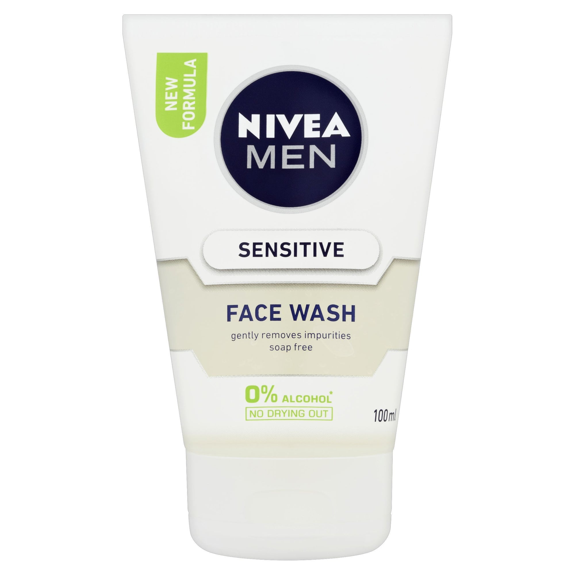 Nivea Men Sensitive Face Wash 100ml - Pack of 6 (Sty-NVMNSNSFW)
