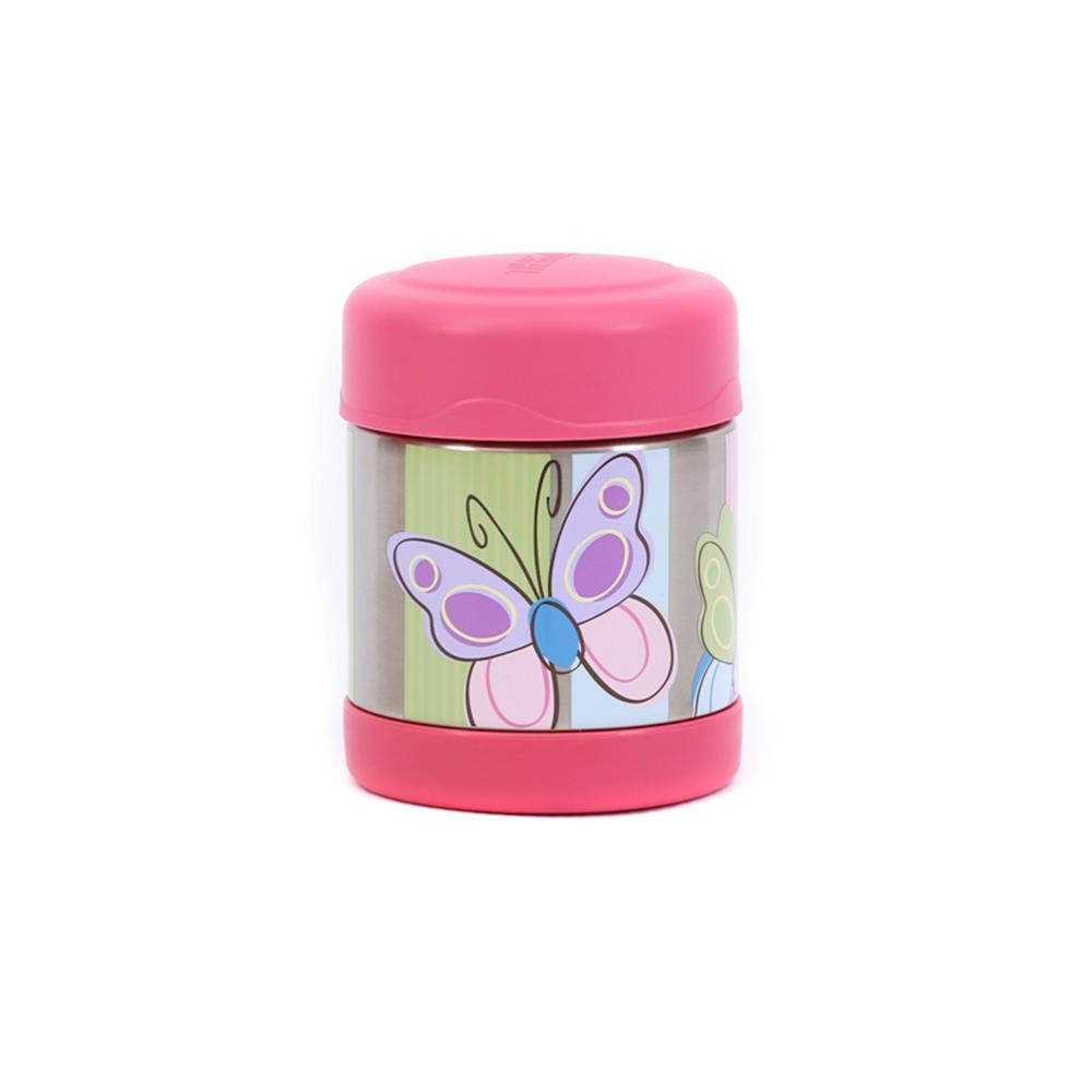 Thermos Funtainer 290ml Food Jar - Hot and Cold food container - Butterfly  Thermos Flask