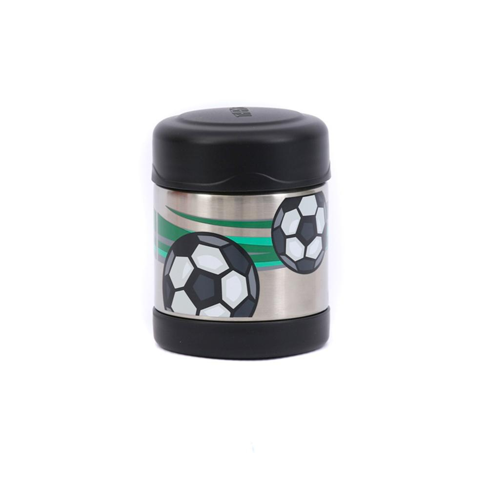 Thermos Funtainer 290ml Food Jar - Hot and Cold food container - Soccerball  Thermos Flask