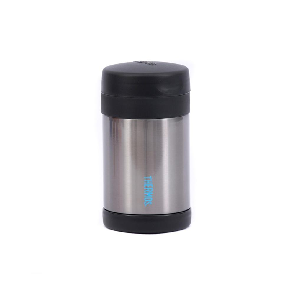 Thermos Funtainer 470ml Food Jar - Hot and Cold food container - Charcoal  Thermos Flask